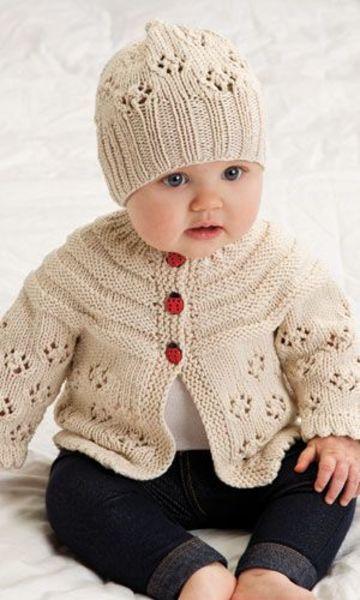 ropones para bebes a crochet con gorro