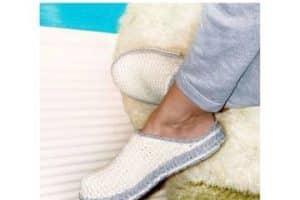 Preciosos modelos de zapatillas de ganchillo para adultos