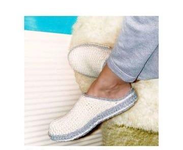 zapatillas de ganchillo para adultos comodas