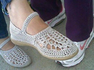 zapatillas de ganchillo para adultos mujeres
