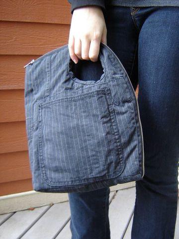 como hacer bolsos de jeans originales