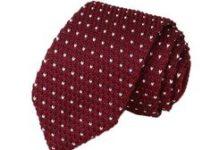 Modelos de corbatas tejidas dos agujas para él y para ella