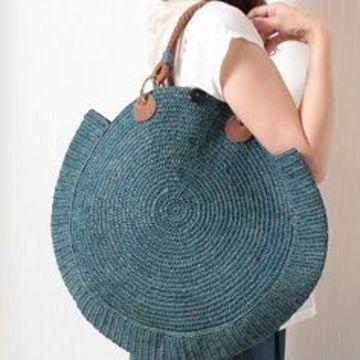 modelos de bolsas para dama redondos