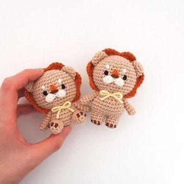 muñecos tejidos a crochet pequeños
