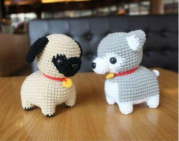 perros tejidos a crochet hermosos