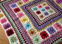 Tapetes de crochet cuadrados para todos los gustos