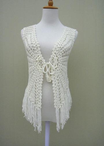 chalecos tejidos a mano crochet