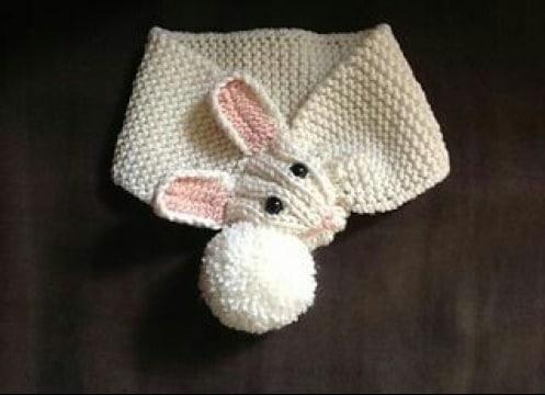 diseños de bufandas para niños a crochet