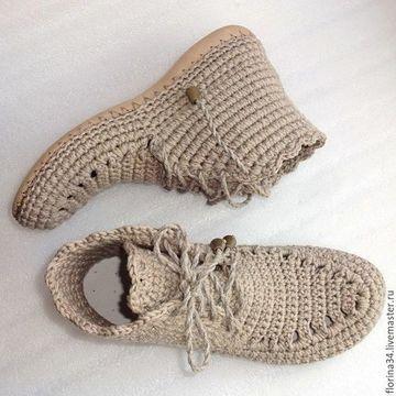imagenes de botas tejidas cortas