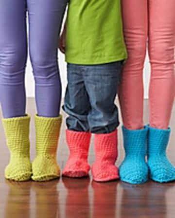 imagenes de botas tejidas unisex