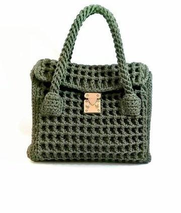 imagenes de carteras tejidas a crochet