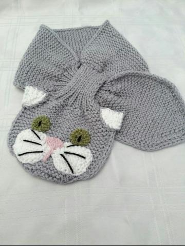 modelos de bufandas para niños a crochet