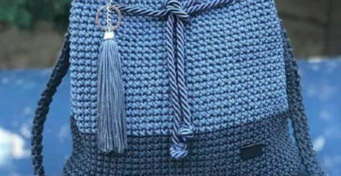 ab3c6697c Hermosas carteras tejidas a crochet para la mujer de hoy - Tejidos a crochet  paso a paso