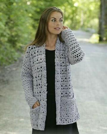 modelos de chalecos a crochet calados