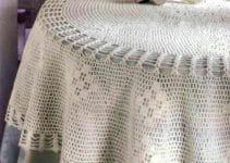 Manteles tejidos a crochet para distintos tipos de mesas