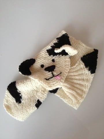 originales bufandas para niños a crochet