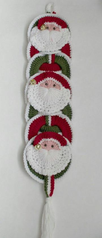 adornos de navidad tejidos a crochet patrones