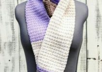 Aprende como hacer bufandas faciles y bonitas a crochet