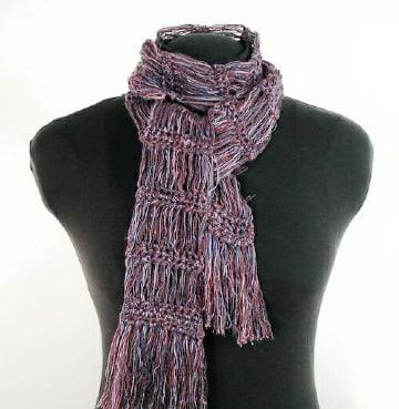 como hacer bufandas tejidas a mano facil y rapido