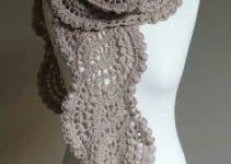 Como hacer bufandas tejidas a mano sencillas y creativas