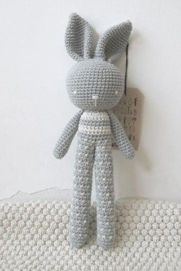 como hacer muñecos de lana a crochet