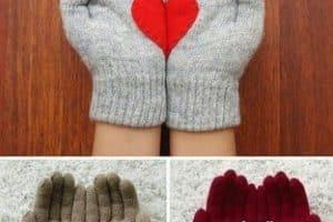 Como tejer guantes paso a paso de modelos preciosos