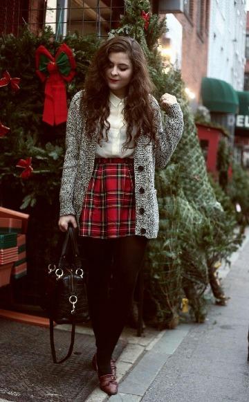 como usar faldas en invierno a la moda