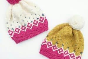 Modelos de gorros tejidos a palillos para todas las edades
