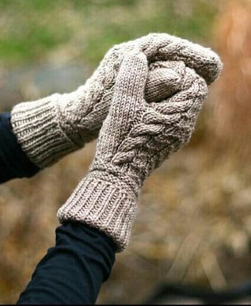 ideas de como tejer guantes paso a paso