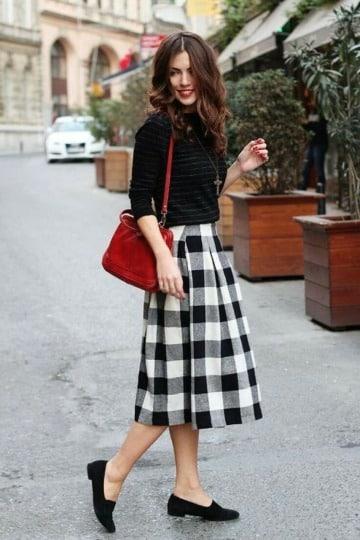 ideas de como usar faldas en invierno