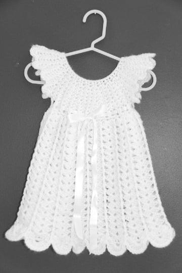 imaganes de vestidos a crochet para niñas de 2 años (2