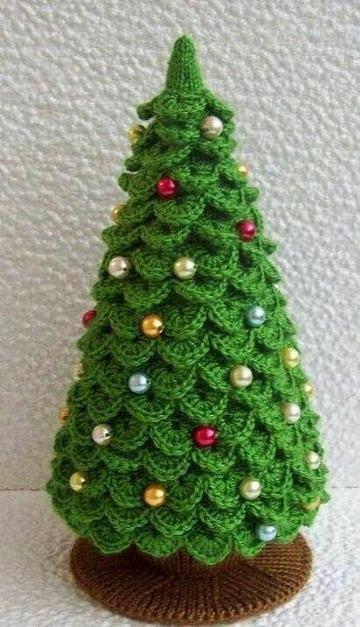 imagenes de adornos de navidad tejidos a crochet