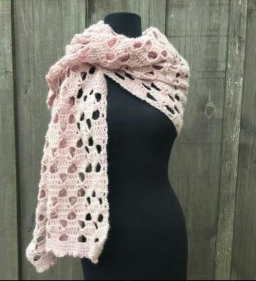 imagenes de como hacer bufandas faciles y bonitas