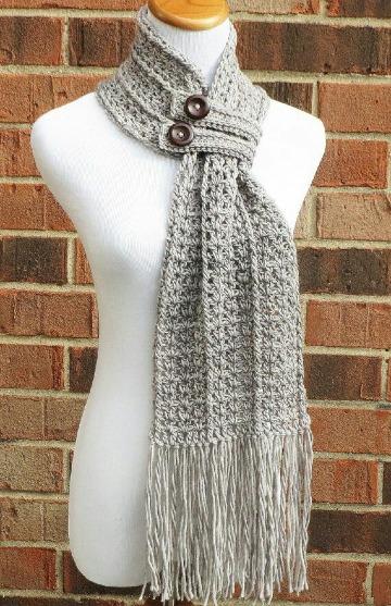 imagenes de como hacer bufandas tejidas a mano