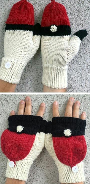 imagenes de como tejer guantes paso a paso