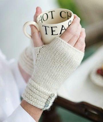 imagenes de como tejer mitones a crochet