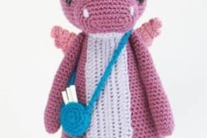 Tiernos muñecos de lana a crochet para decorar tu habitación