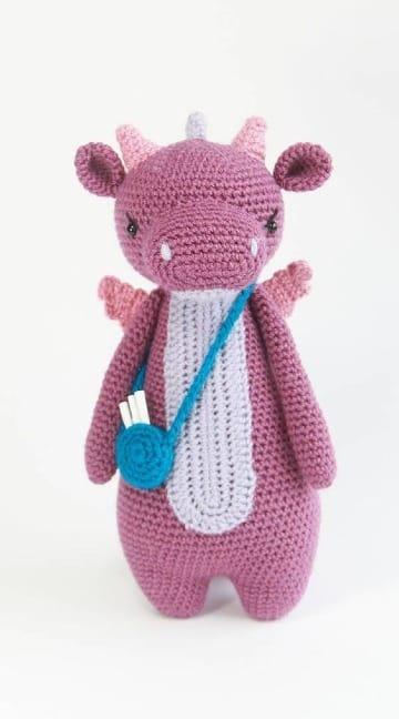 imagenes de muñecos de lana a crochet