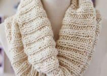 Sofisticados cuellos tejidos a palillos para damas