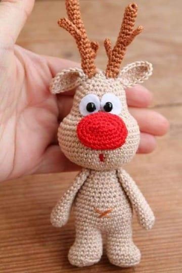 muñecos tejidos a crochet paso a paso navideños