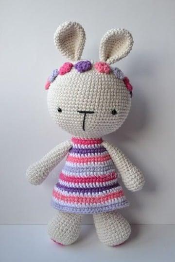 muñecos tejidos a crochet paso a paso para niña