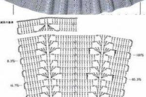 3 Patrones de faldas tejidas a crochet gratis y sencillos