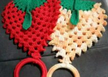 Ideas para adornos tejidos a crochet para cocina