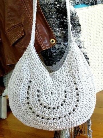 bolsas tejidas a crochet paso a paso facil