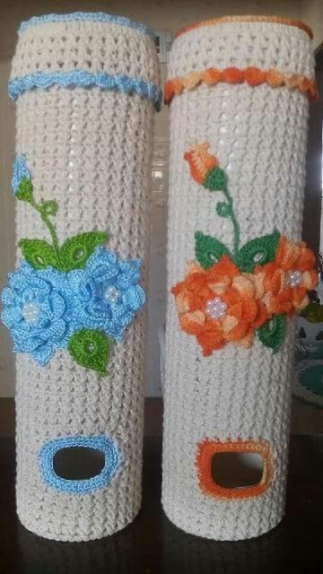 como hacer adornos tejidos a crochet para cocina
