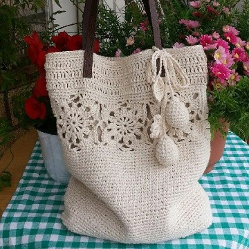 como hacer bolsas tejidas a crochet paso a paso