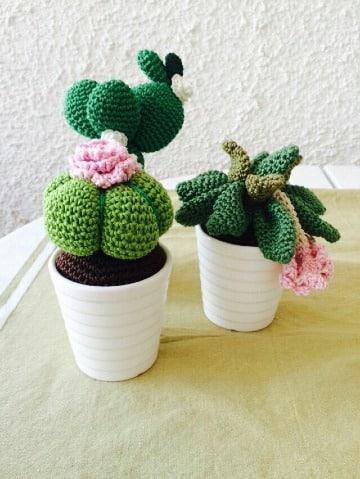 Mar&Vi Blog: Patrones amigurumi: cactus paso a paso | 479x360