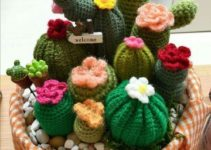 Pasos de como hacer cactus de ganchillo en 4 modelos