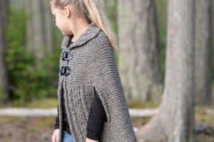 Excelentes capitas tejidas a crochet para niña