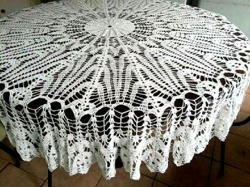 como hacer un mantel a crochet paso a paso
